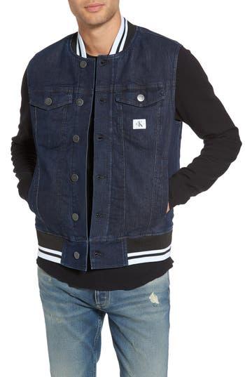 Calvin Klein Jeans Icon Denim Gilet, Blue