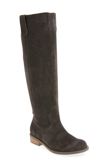 Sole Society Hawn Knee High Boot- Grey