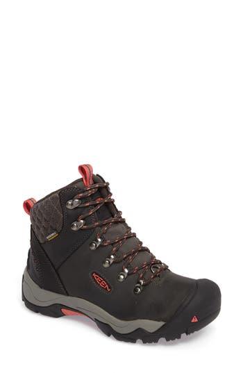 Keen Revel Iii Waterproof Hiking Boot- Black