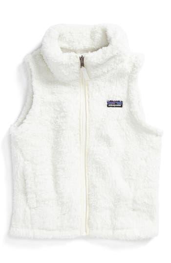 Girl's Patagonia Los Gatos Fuzzy Fleece Vest
