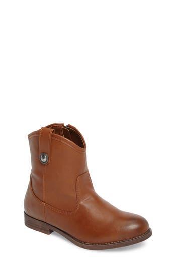Girls Frye Melissa Button Boot Size 4 M  Grey