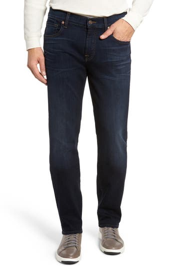 7 For All Mankind Standard Straight Fit Jeans, Blue