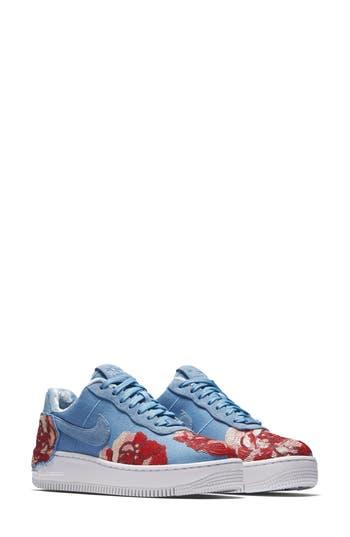 Nike Air Force 1 Upstep Lx Shoe- Blue