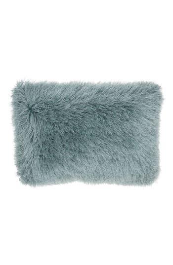 Mina Victory Yarn Shimmer Shag Pillow, Size One Size - Blue