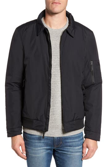 The North Face Barstol Aviator Jacket, Black