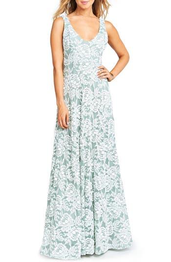 Show Me Your Mumu Jen Lace Dress, Grey