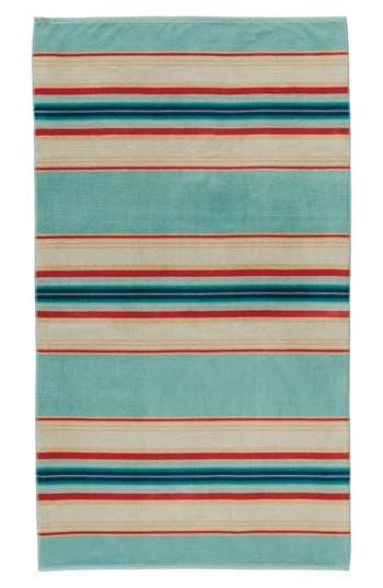 Pendleton Serape Stripe Beach Towel, Size One Size - Blue