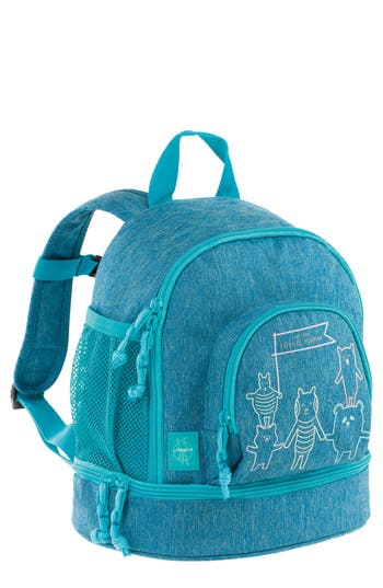 Toddler Lassig Mini About Friends Backpack - Blue