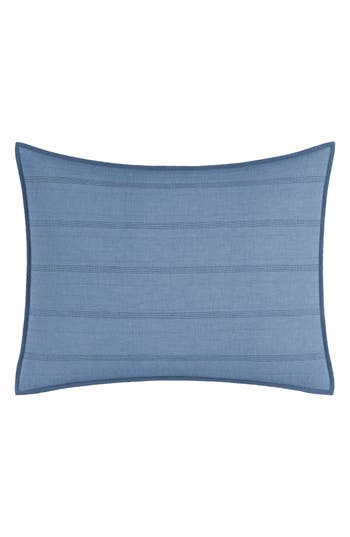 Nautica Buchanan Sham, Size Standard - Blue