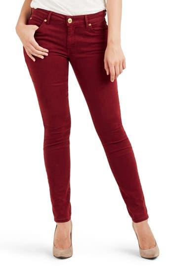 True Religion Brand Jeans Jennie Curvy Skinny Jeans, Red