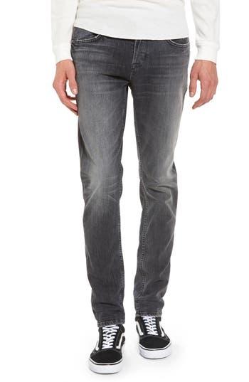 Hudson Jeans Axl Skinny Fit Jeans, Black