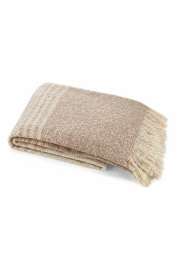 Nautica Sandkey Stripe Throw, Size One Size - Beige