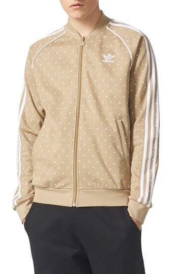 Adidas Originals Pharrell Williams Hu Hiking Sst Track Jacket, Green