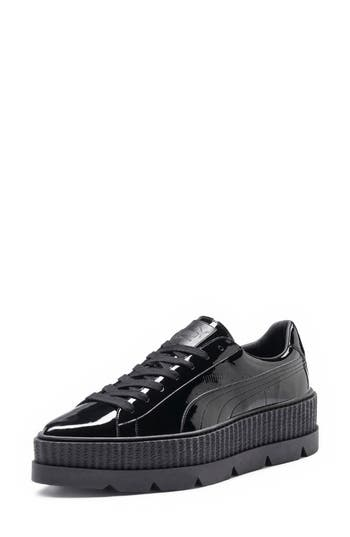 Fenty Puma By Rihanna Pointy Toe Creeper Sneaker- Black