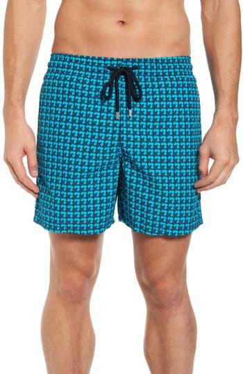 Vilebrequin Moorea Baby Trop Swim Shorts, Blue
