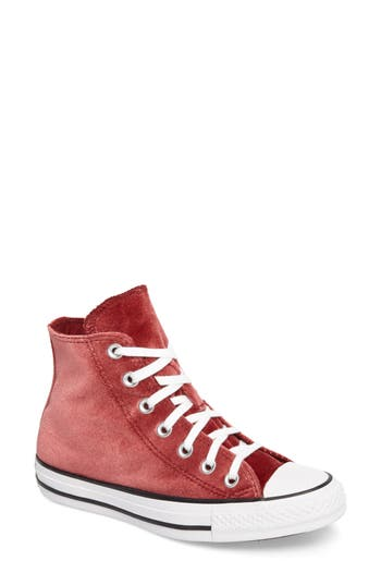 Converse Chuck Taylor All Star Seasonal Hi Sneaker- Red