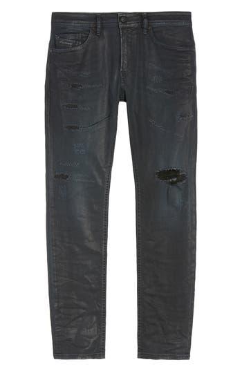 Diesel Thommer Slim Fit Jeans, Black