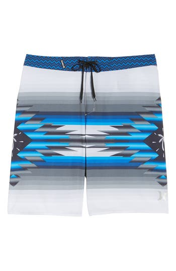 Hurley X Pendleton Phantom Board Shorts, Grey