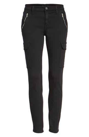 Mavi Jeans Juliette Skinny Cargo Pants, Black