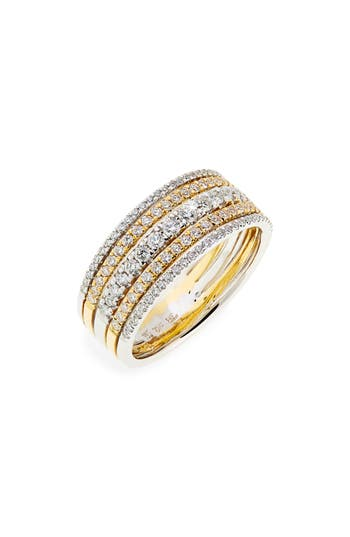 Bony Levy Diamond Stack Ring