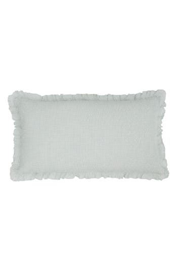 Pine Cone Hill Lace Ruffle Accent Pillow, Size One Size - Blue