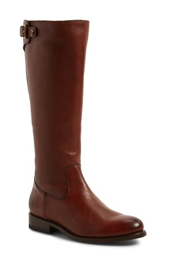 Frye Jayden Buckle Back Zip Boot