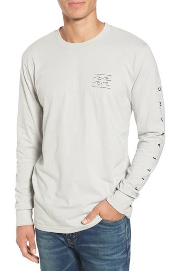 Billabong Unity Sleeve Graphic T-Shirt, Grey