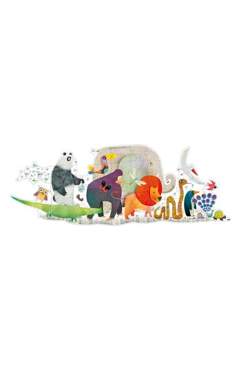 Toddler Djeco Animal Parade 36-Piece Giant Puzzle
