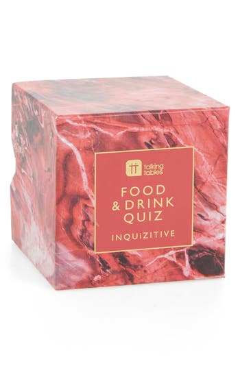 Talking Tables Inquizitive Cubes  Food  Drink Quiz