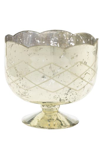 Accent Decor Indi Compote, Size One Size - Metallic