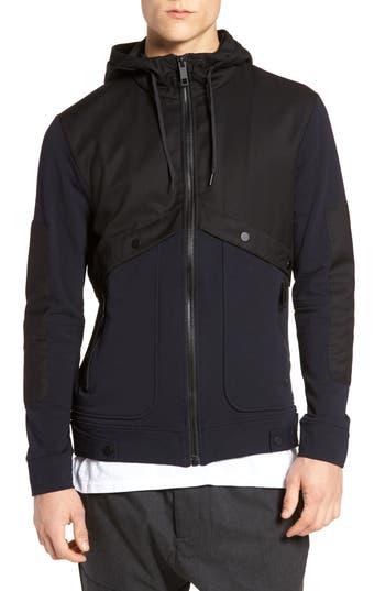 Antony Morato Fleece Zip Up Jacket, Black