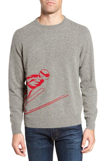 Bonobos Skier Wool Blend Sweater, Grey