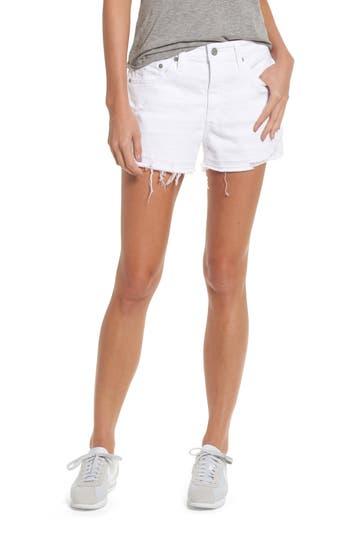 Bryn High Rise Cutoff Denim Shorts