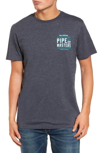 Billabong Pipe Masters T-Shirt, Blue