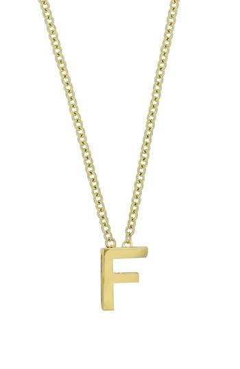 Women's Bony Levy Initial Pendant Necklace