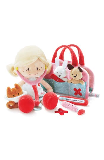 Toddler Girls Neat Oh 11Piece Nici Wonderland Minilina Plush Veterinarian Play Set