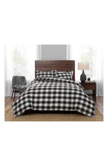 Pendleton Cooper Creek Comforter & Sham Set, Size Full/Queen - Grey