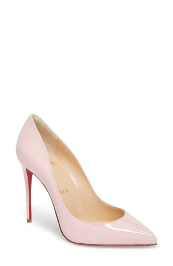 CHRISTIAN LOUBOUTIN 'PIGALLE FOLLIES' POINTY TOE PUMP, POMPADOUR
