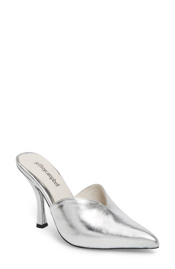 Jeffrey Campbell Jodeci Sweetheart Mule Pump, Metallic