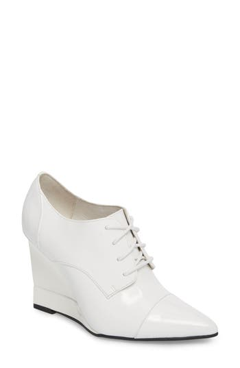 Jeffrey Campbell Rule Bootie, White