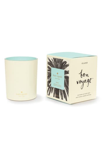 Kate Spade New York Medium Scented Candle, Size One Size - White