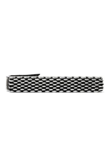 title of work Mesh Band Tie Clip