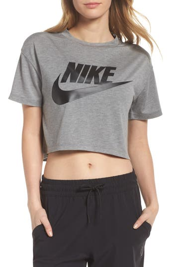 Nike Sportswear Crop Top, Grey