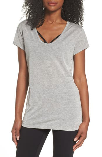 Zella Boot Camp Tee, Grey