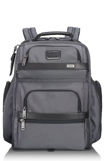 Men's Tumi Alpha 2 T-Pass Brief Pack - Grey -  103797-1688
