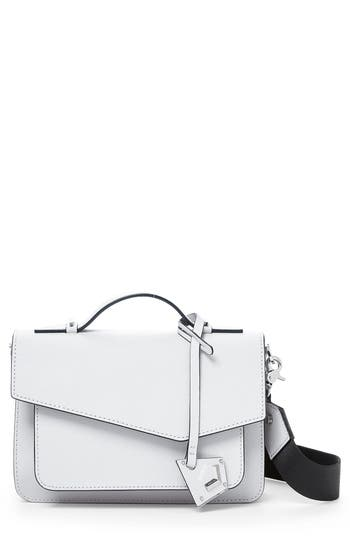 Botkier Cobble Hill Leather Crossbody Bag - White