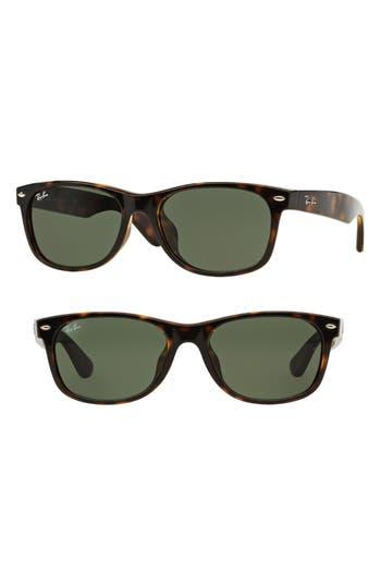 Ray-Ban New Wayfarer Classic 55Mm Sunglasses - Tortoise
