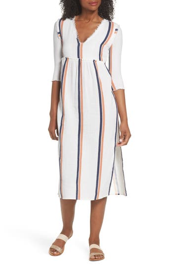 Tavik Oria Cover-Up Dress, White