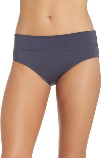 Nike Full Bikini Bottoms, Blue