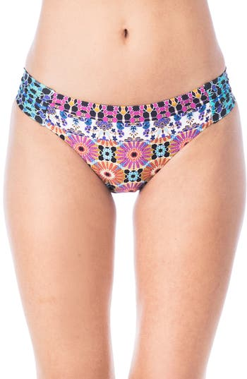 Trina Turk Golden Medallion Hipster Bikini Bottoms, Yellow